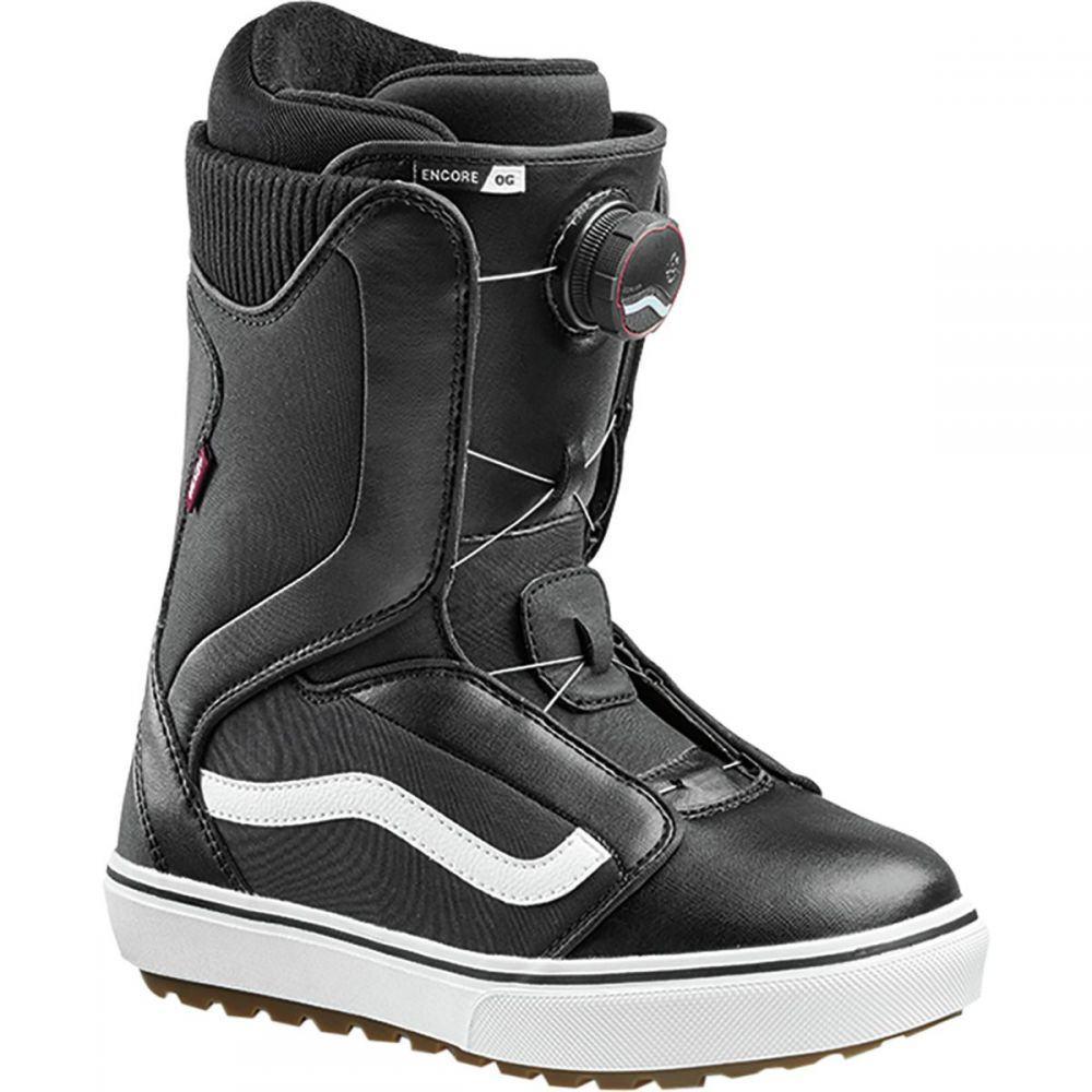 ヴァンズ Vans レディース スキー・スノーボード シューズ・靴【Encore OG BOA Snowboard Boot】Black/White