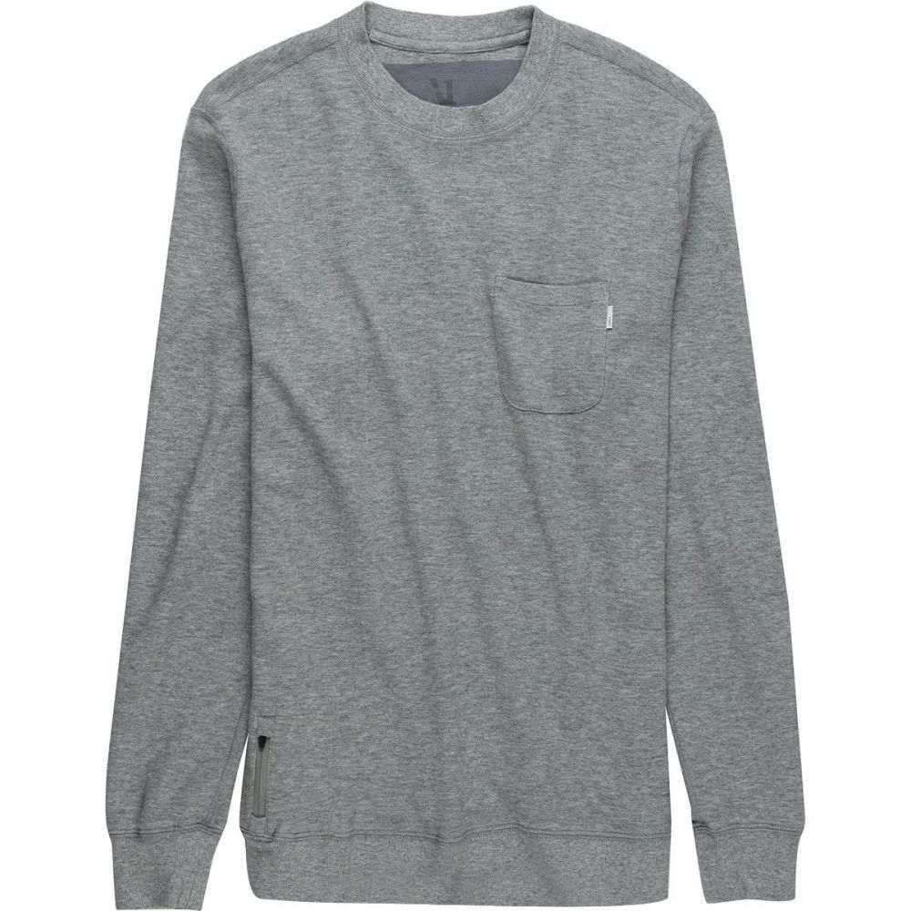 ヴォリ Vuori メンズ トップス スウェット・トレーナー【Jeffreys Pullover Sweatshirts】Grey Heather