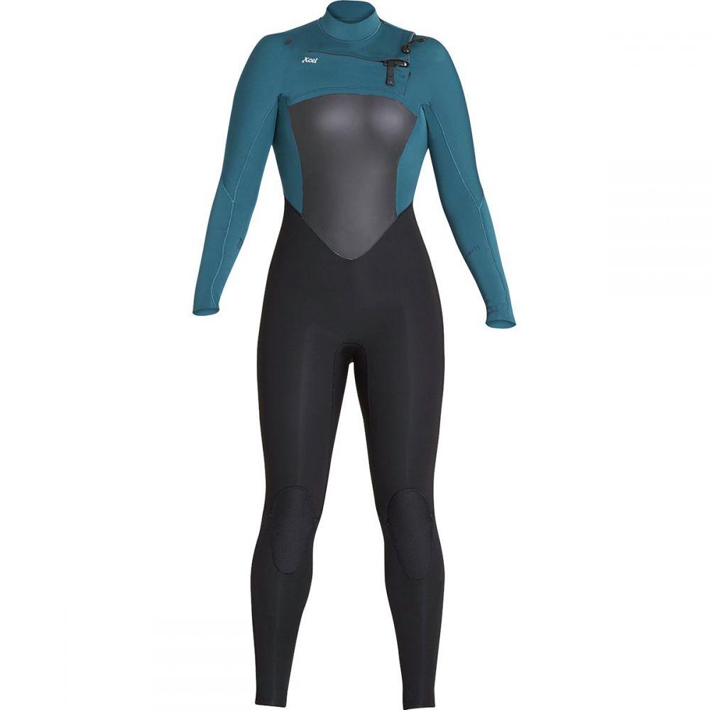 エクセル XCEL レディース 水着・ビーチウェア ウェットスーツ【Infiniti 4/3 Wetsuit】Black/Spruce