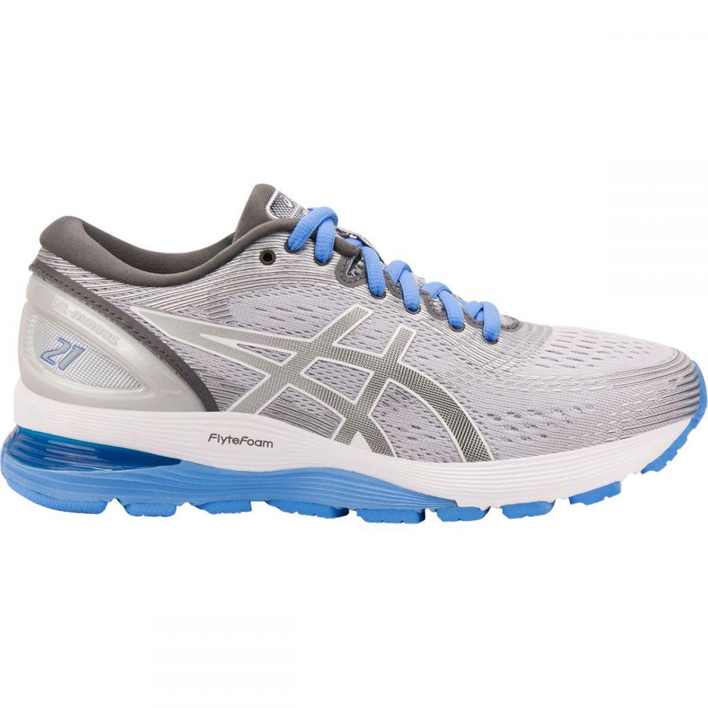 アシックス Asics レディース ランニング・ウォーキング シューズ・靴【Gel - Nimbus 21 Running Shoe】Mid Grey/Dark Grey
