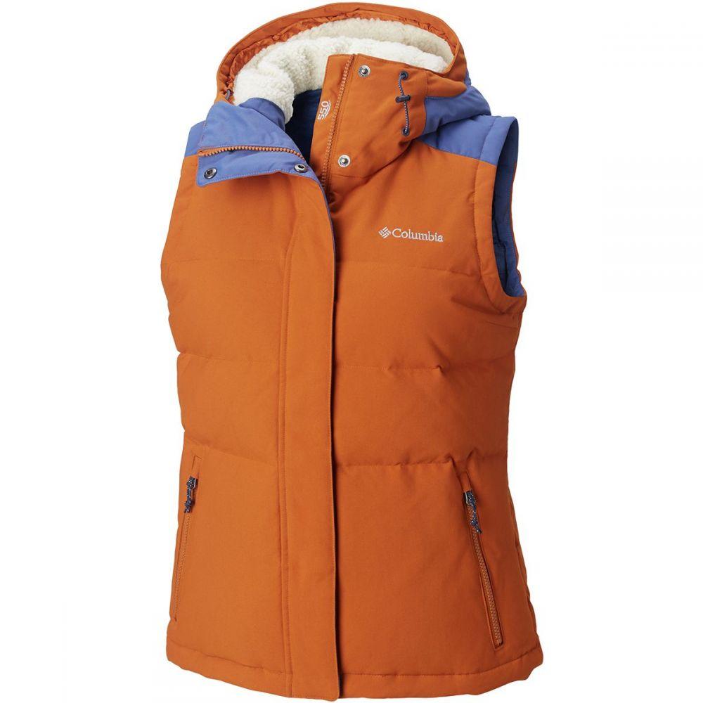 コロンビア Columbia レディース トップス ベスト・ジレ【Winter Challenger Hooded Vest】Bright Copper/Eve