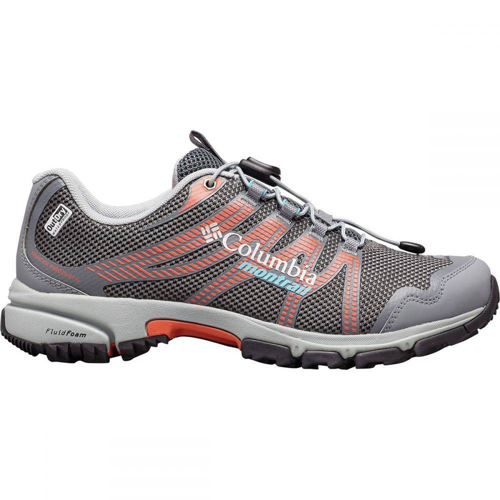 コロンビア Columbia レディース ハイキング・登山 シューズ・靴【Mountain Masochist IV Outdry Hiking Shoe】Graphite/Riptide