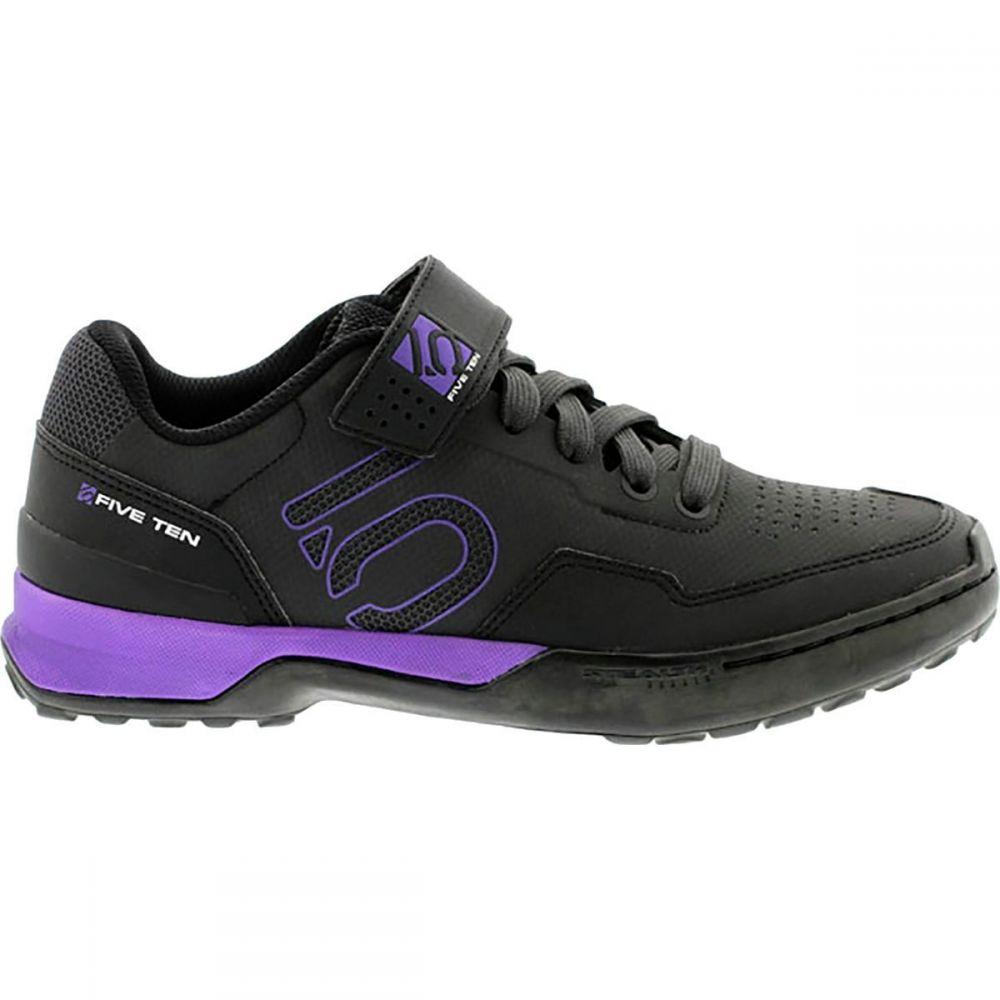 ファイブテン Five Ten レディース 自転車 シューズ・靴【Kestrel Lace - Up Shoe】Black/Purple/Carbon