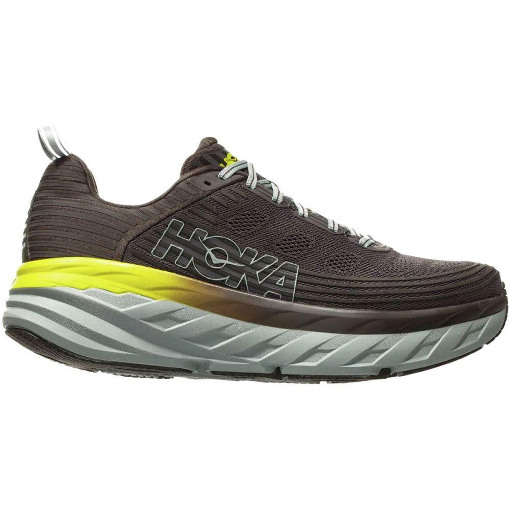 ホカ オネオネ HOKA ONE ONE メンズ ランニング・ウォーキング シューズ・靴【Bondi 6 Running Shoes】Black Olive/Pavement