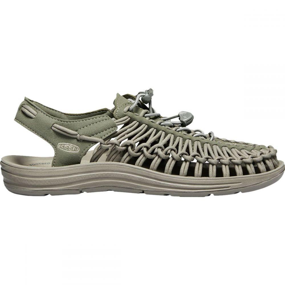 キーン KEEN メンズ シューズ・靴 サンダル【Uneek Sandals】Dusty Olive/Brindle