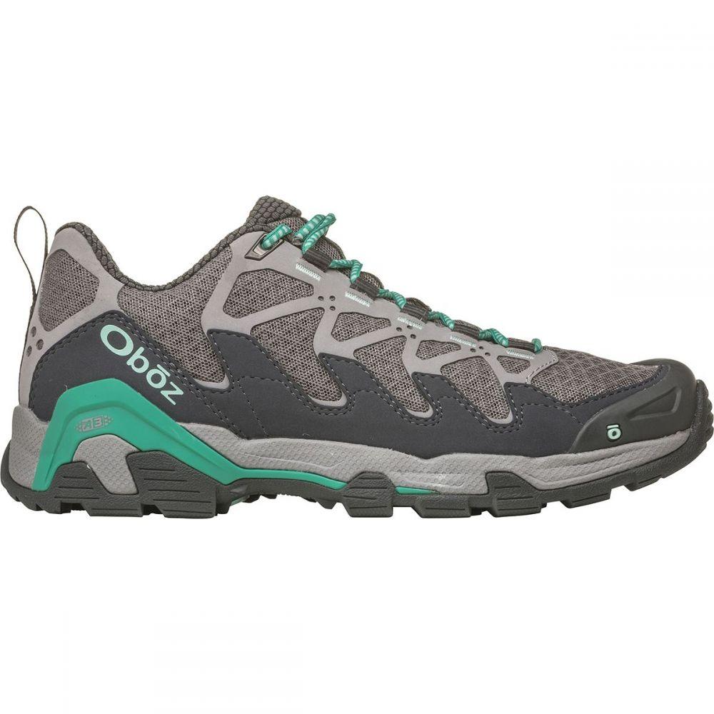 オボズ Oboz レディース ハイキング・登山 シューズ・靴【Cirque Low Hiking Shoe】Pewter/Vivid Green