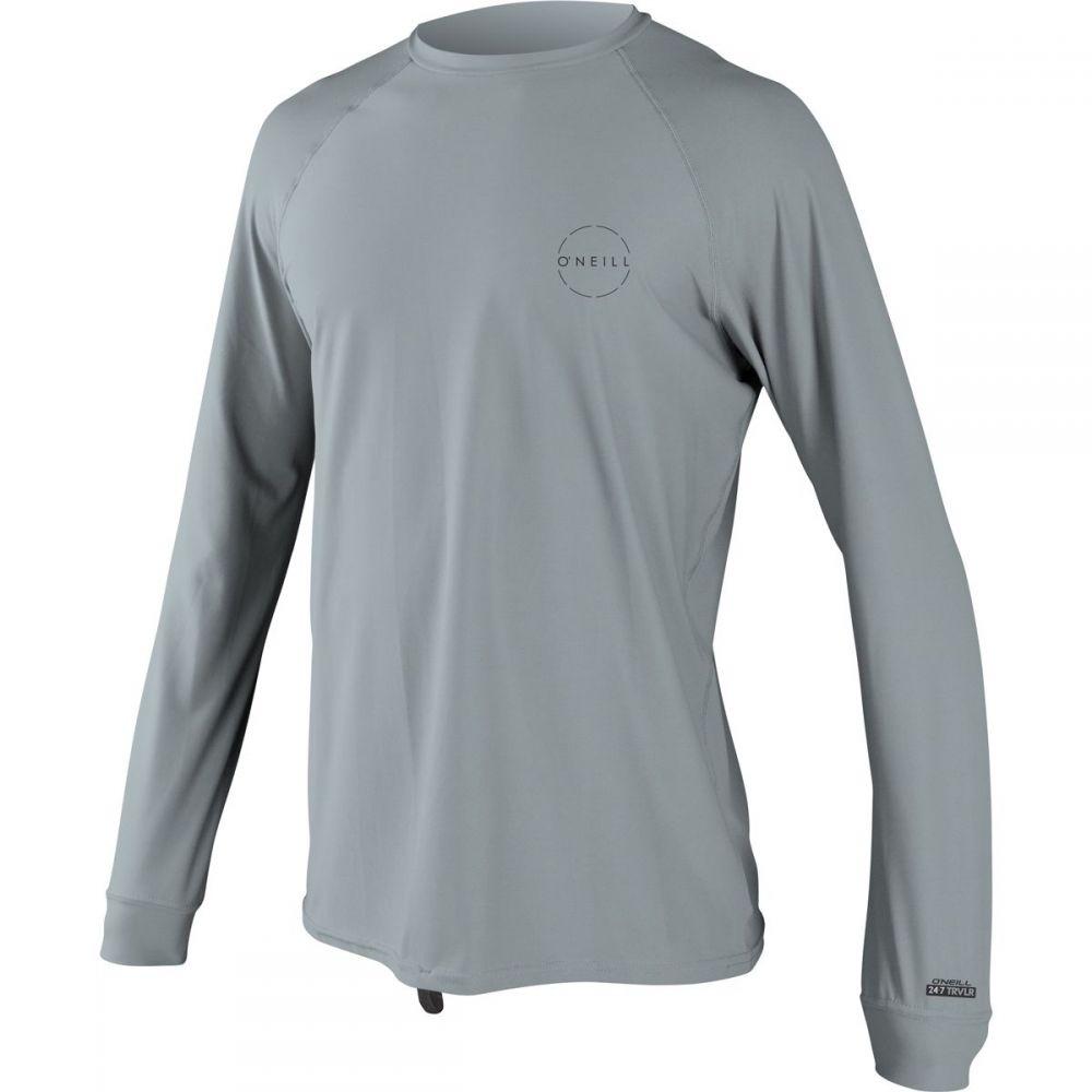 オニール O'Neill メンズ 水着・ビーチウェア ラッシュガード【24 - 7 Traveler Long - Sleeve Sun Shirts】Cool Grey/Cool Grey