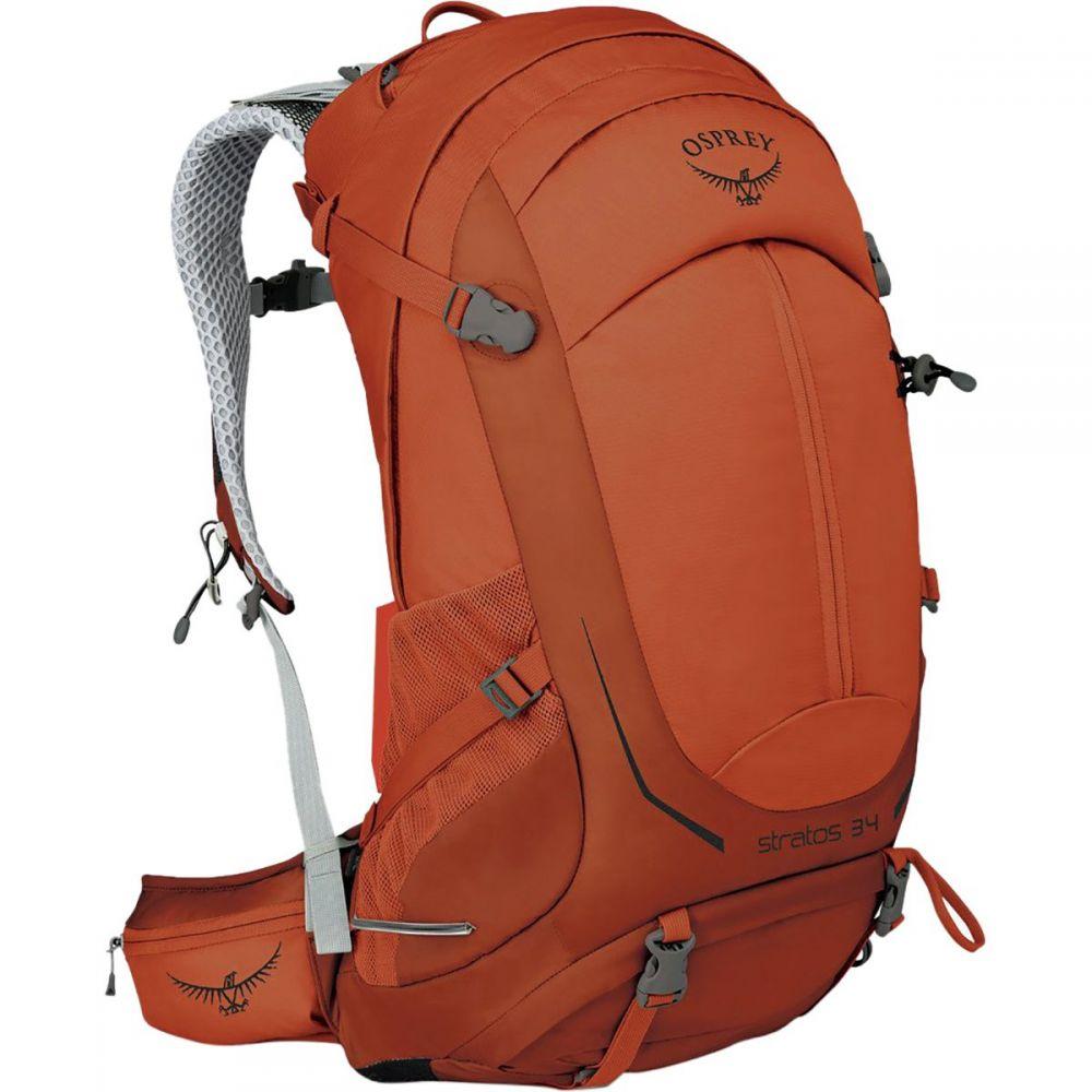 オスプレー Osprey Packs メンズ バッグ バックパック・リュック【Stratos 34L Backpack】Sungrazer Orange