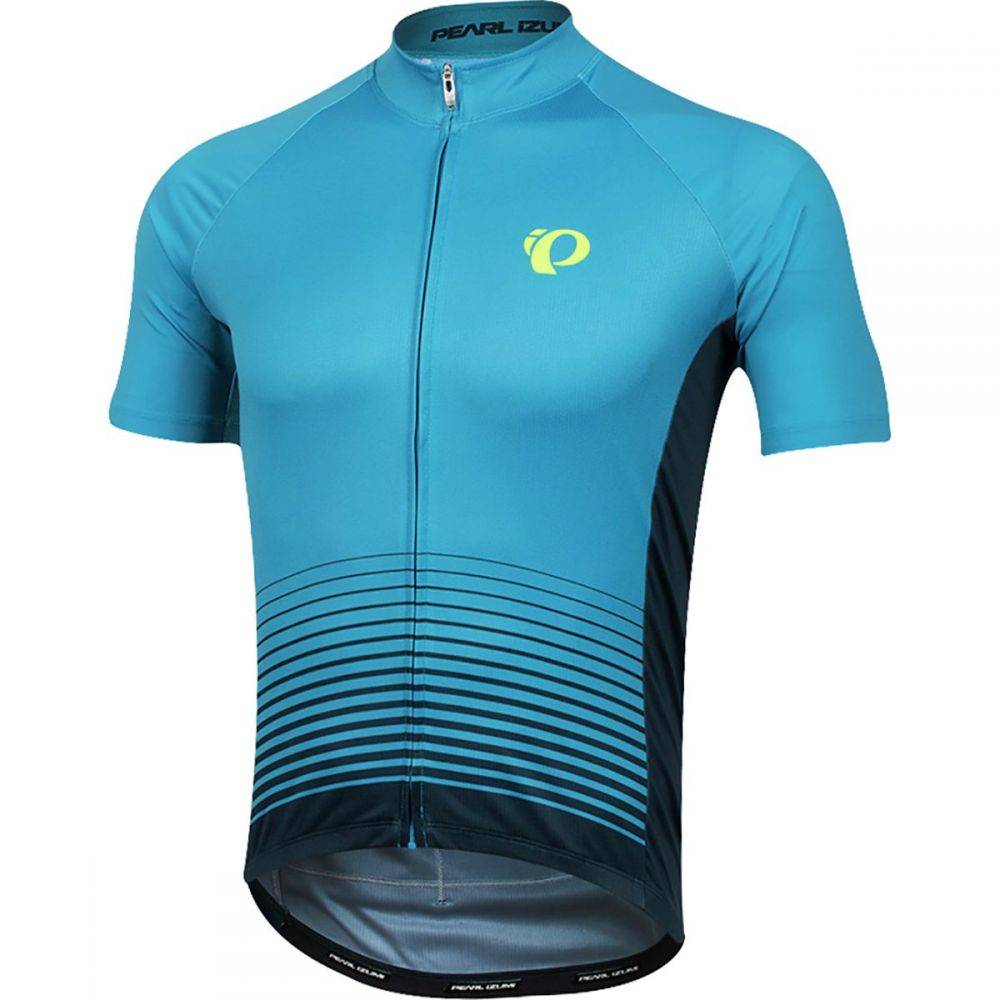 パールイズミ Pearl Izumi メンズ 自転車 トップス【ELITE Pursuit Graphic Jerseys】Atomic Blue Diffuse