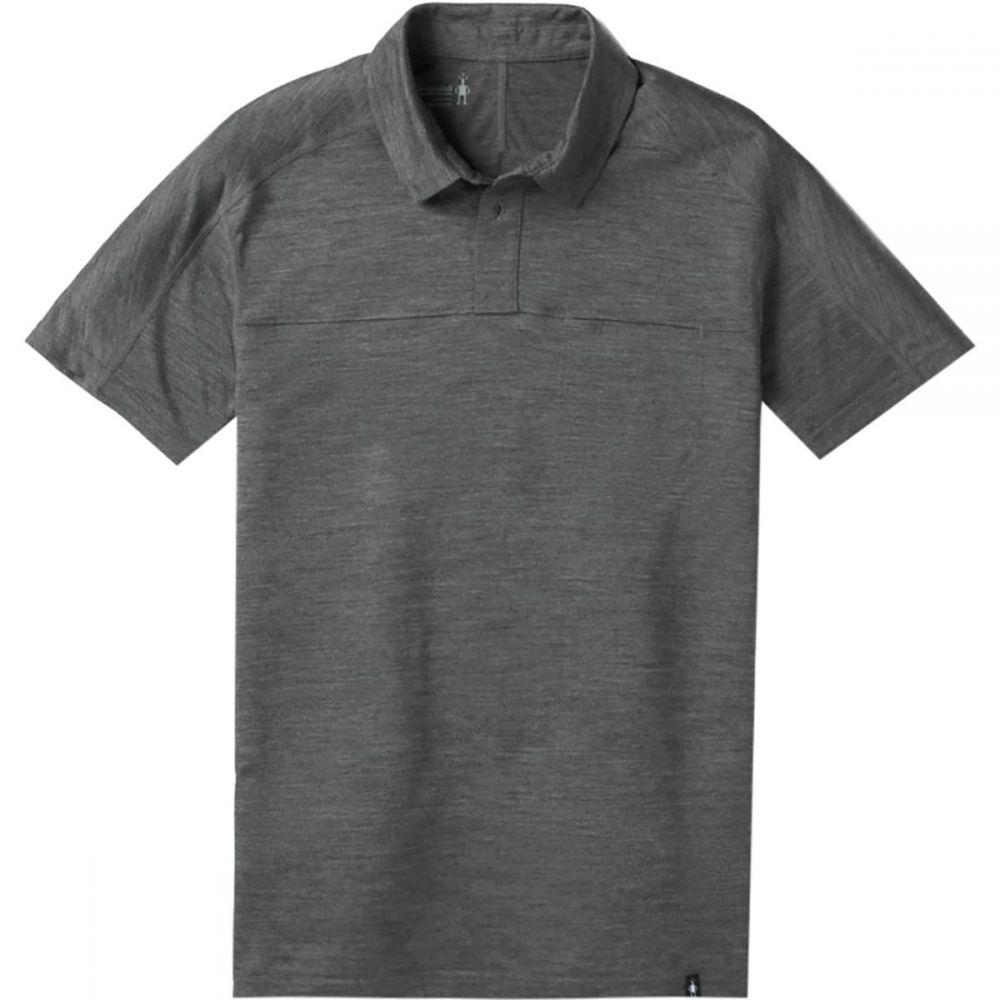 スマートウール Smartwool メンズ トップス ポロシャツ【Merino Sport 150 Polo Shirts】Medium Gray Heather