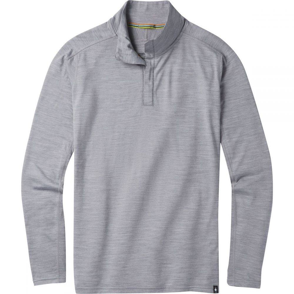 スマートウール Smartwool メンズ トップス【Merino Sport 150 1/4 - Zip Shirts】Light Gray Heather