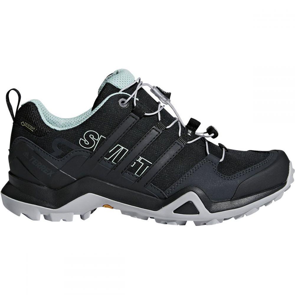 アディダス Adidas Outdoor レディース ハイキング・登山 シューズ・靴【Terrex Swift R2 GTX Hiking Shoe】Black/Black/Ash Green