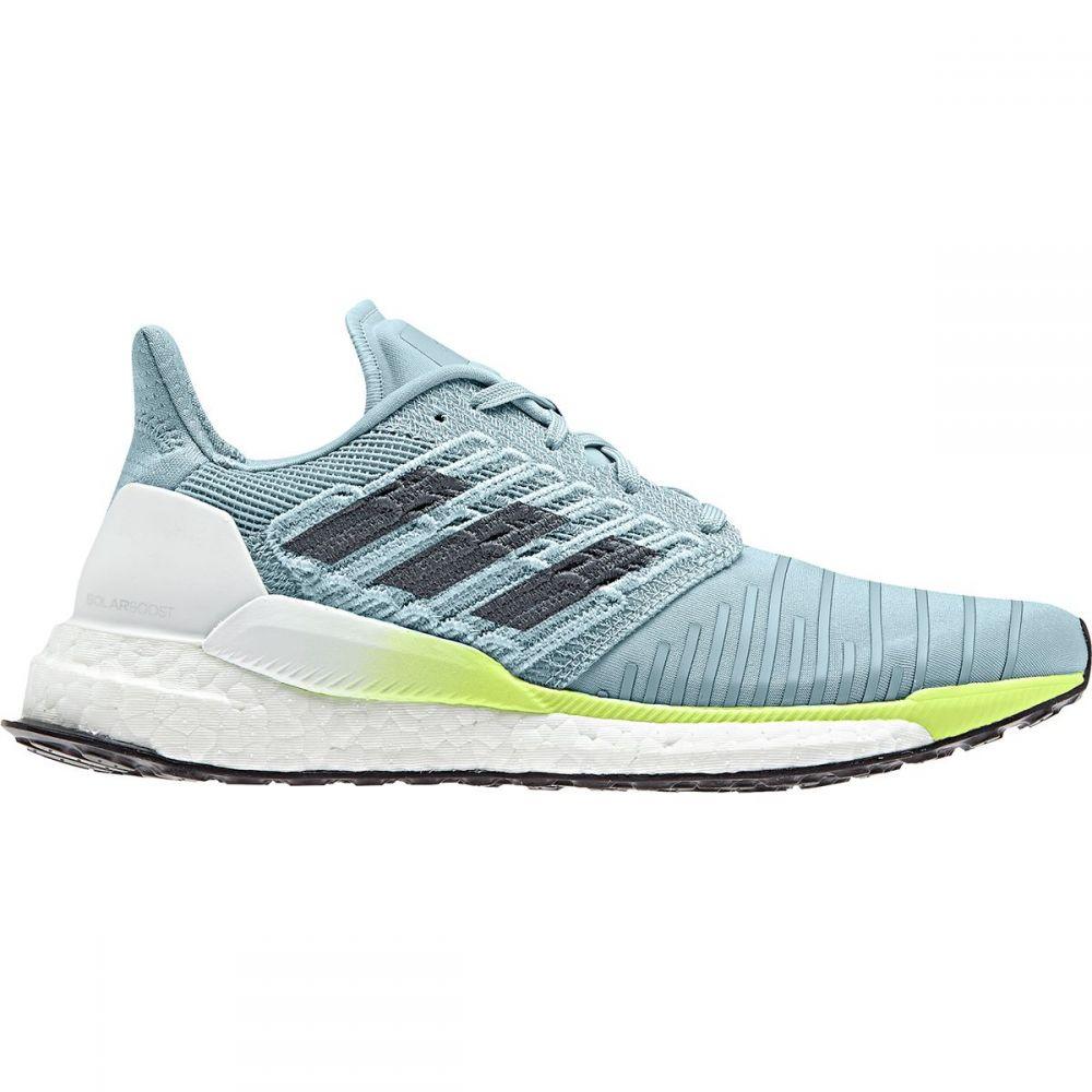 アディダス Adidas レディース ランニング・ウォーキング シューズ・靴【Solar Boost Running Shoe】Ash Grey S18/Onix/Hi-res Yellow