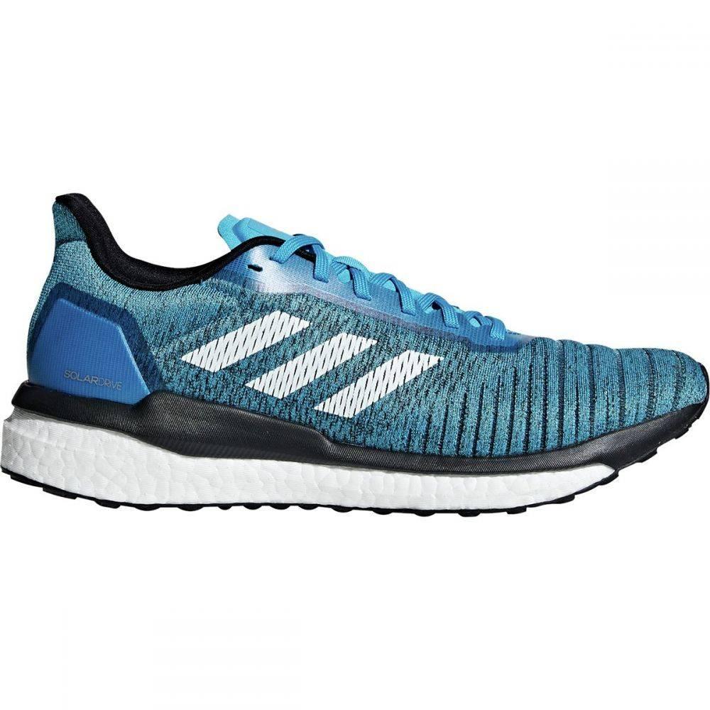 アディダス Adidas メンズ ランニング・ウォーキング シューズ・靴【Solar Drive Running Shoes】Shock Cyan/Footwear White/Core Black