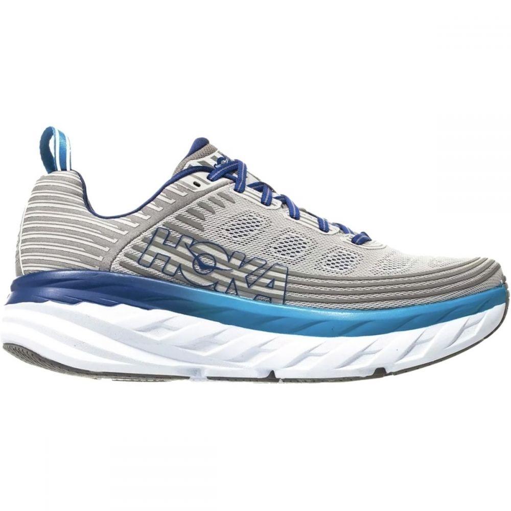 ホカ オネオネ HOKA ONE ONE メンズ ランニング・ウォーキング シューズ・靴【Bondi 6 Running Shoes】Vapor Blue/Frost Gray