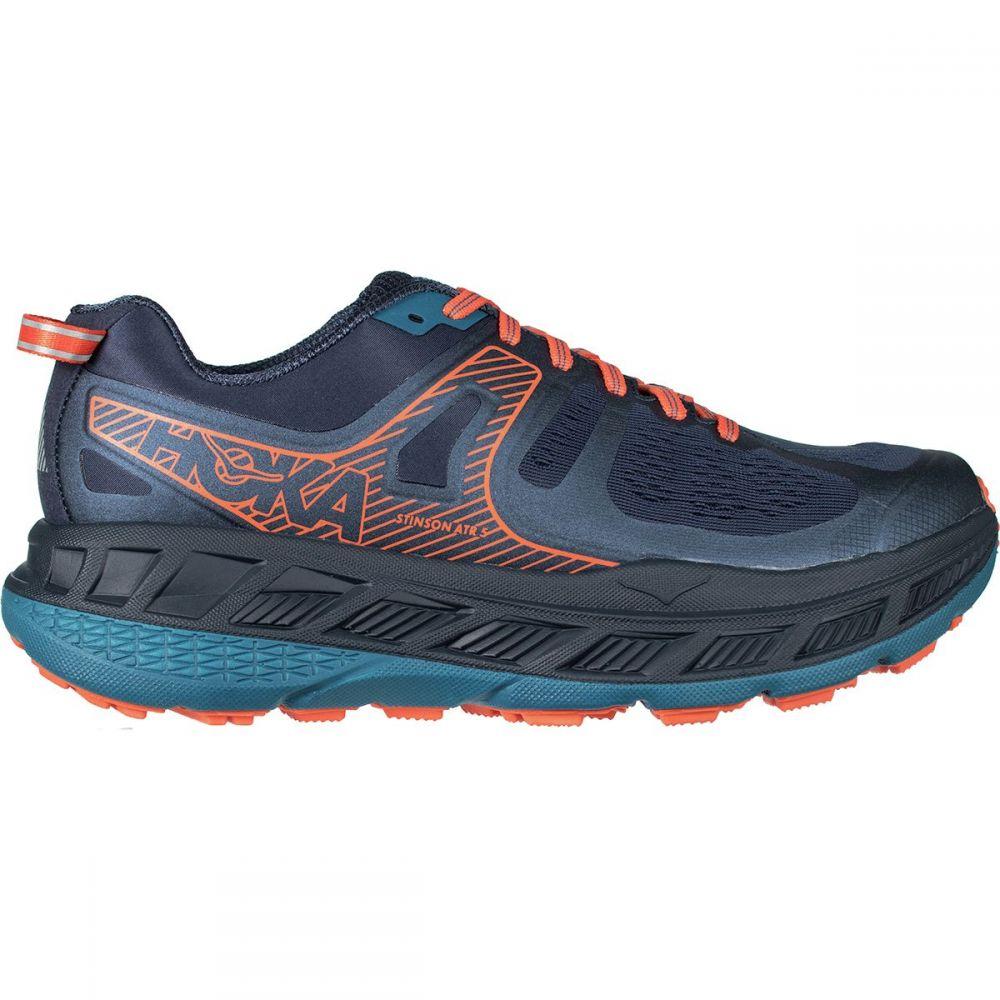 ホカ オネオネ HOKA ONE ONE メンズ ランニング・ウォーキング シューズ・靴【Stinson ATR 5 Running Shoes】Mood Indigo/Blue Sapphire