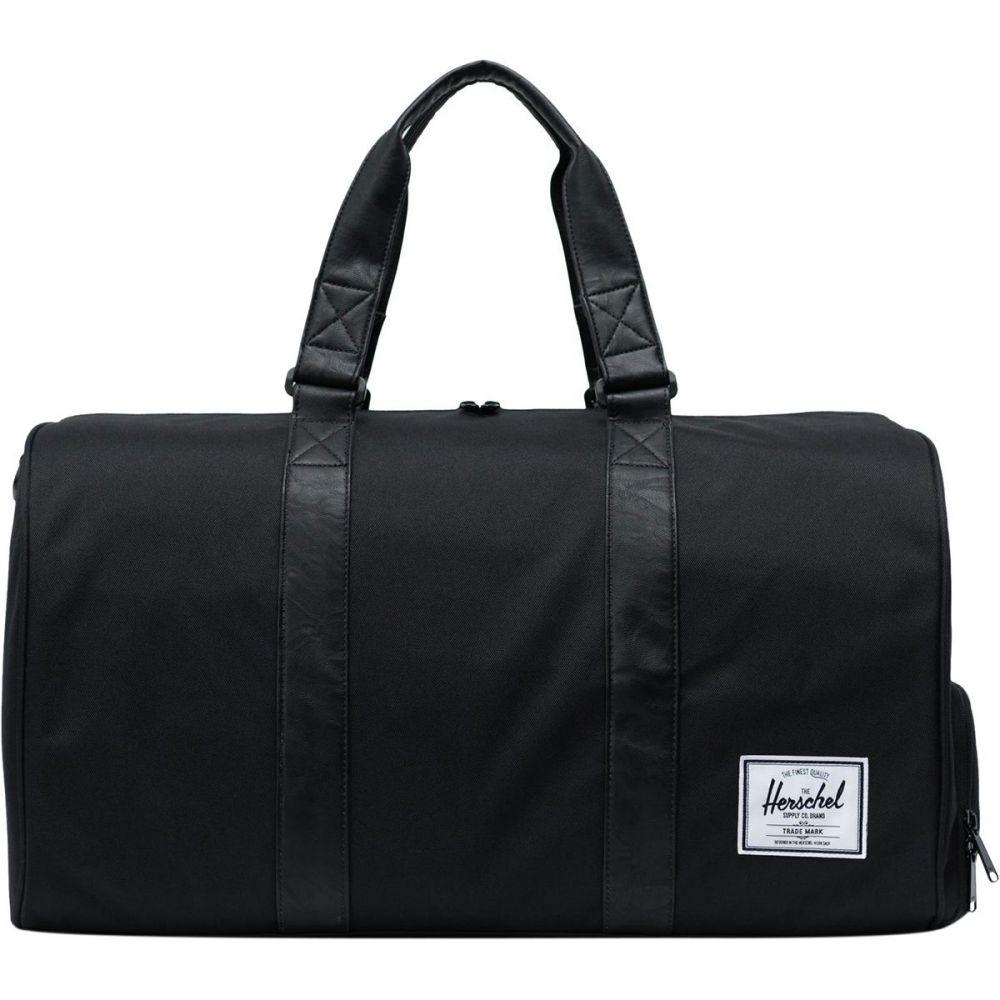 ハーシェル サプライ Herschel Supply レディース バッグ ボストンバッグ・ダッフルバッグ【Novel 42.5L Duffel】Black/Black Synthetic Leather