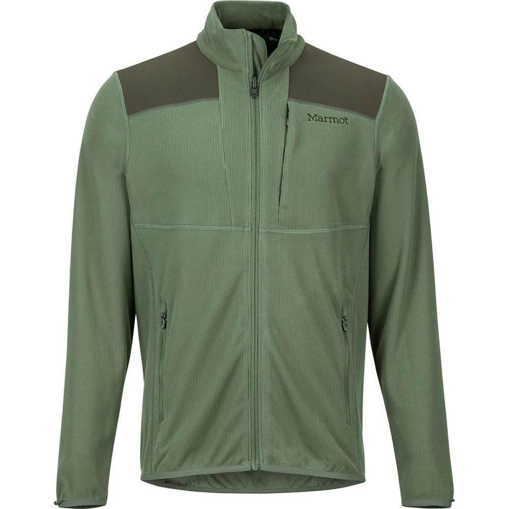 マーモット Marmot メンズ アウター ジャケット【Reactor Fleece Jackets】Crocodile/Rosin Green