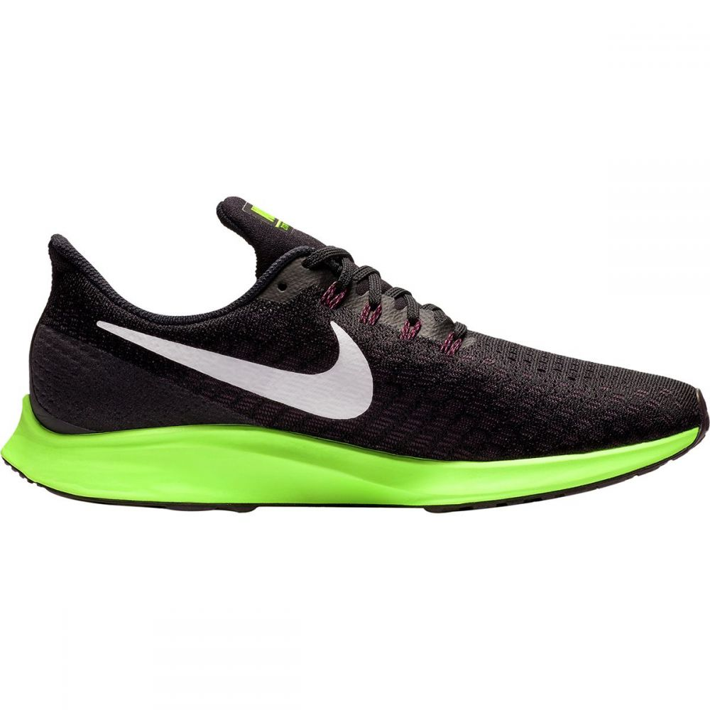 ナイキ Nike メンズ ランニング・ウォーキング シューズ・靴【Air Zoom Pegasus 35 Running Shoes】Black/White-Burgundy Ash-Lime Blast