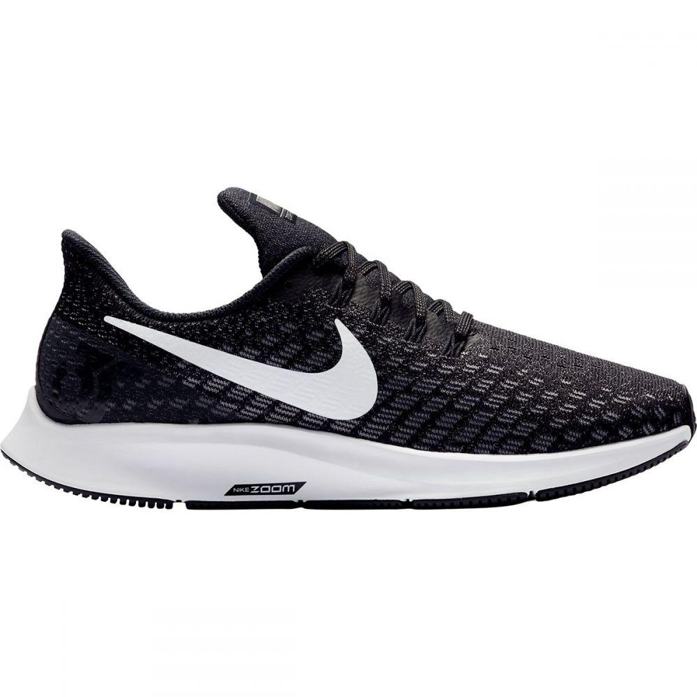 ナイキ Nike レディース ランニング・ウォーキング シューズ・靴【Air Zoom Pegasus 35 Running Shoe - Wide】Black/White-Gunsmoke-Oil Grey