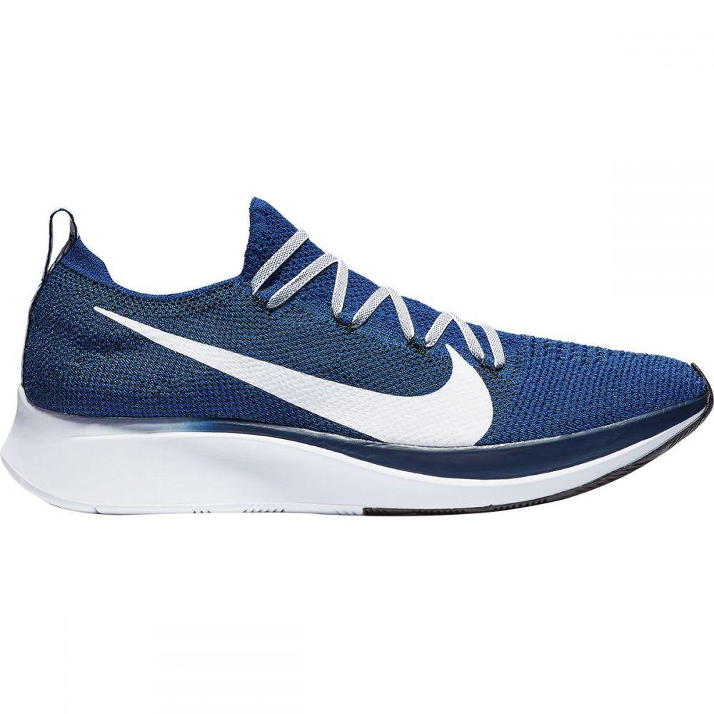 ナイキ Nike メンズ ランニング・ウォーキング シューズ・靴【Zoom Fly Flyknit Running Shoes】Deep Royal/White-blue Void