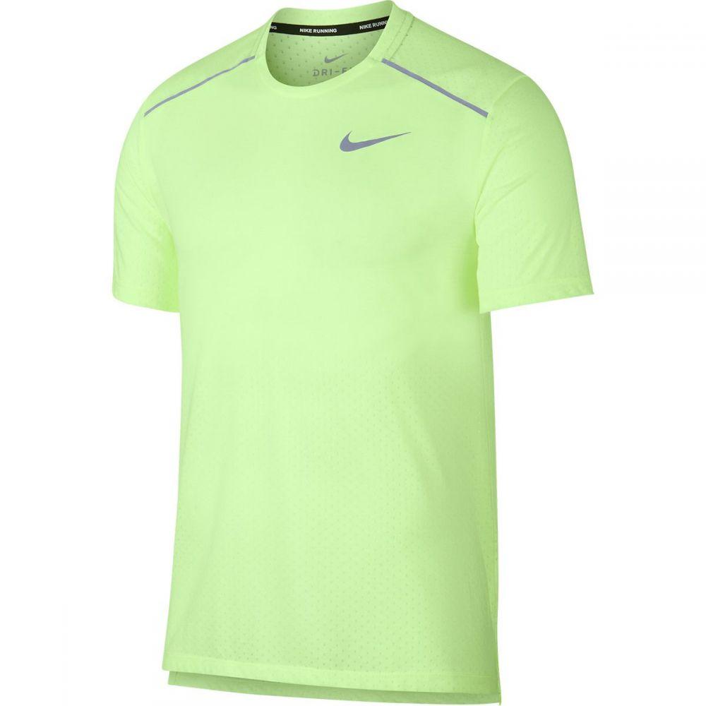 ナイキ Nike メンズ トップス【Breathe Rise 365 Short - Sleeve Tops】Barely Volt/Reflective Silver