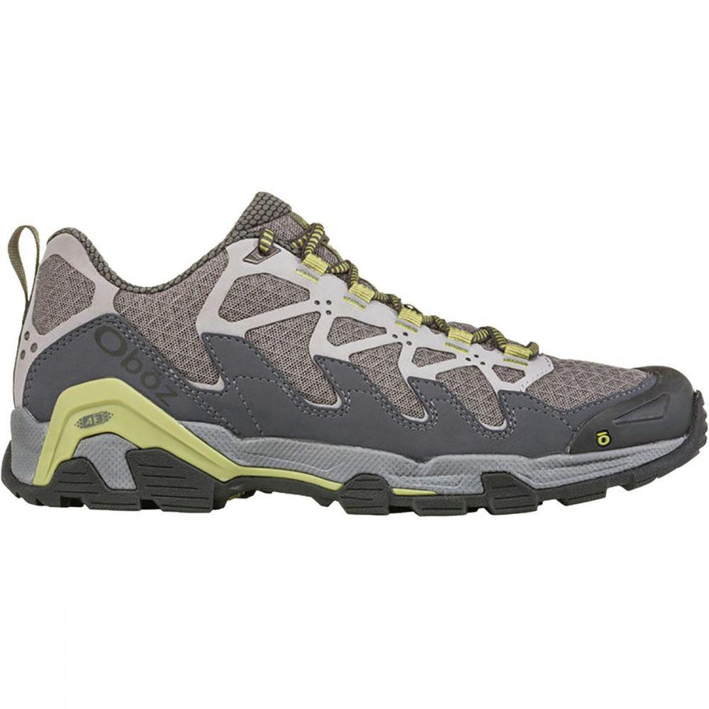 オボズ Oboz メンズ ハイキング・登山 シューズ・靴【Cirque Low Hiking Shoes】Pewter/Woodbine Green