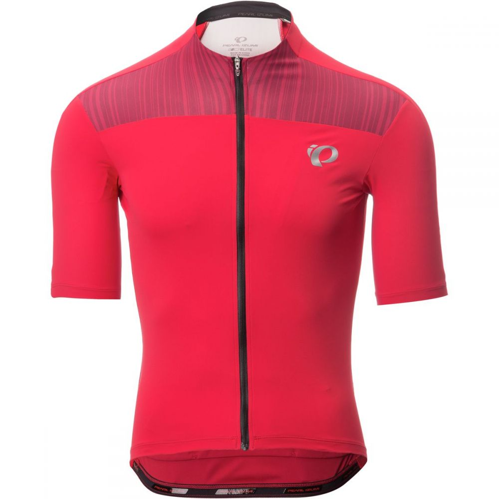 パールイズミ Pearl Izumi メンズ 自転車 トップス【ELITE Pursuit Jersey - Short - Sleeves】True Red/Chili Pepper Rush