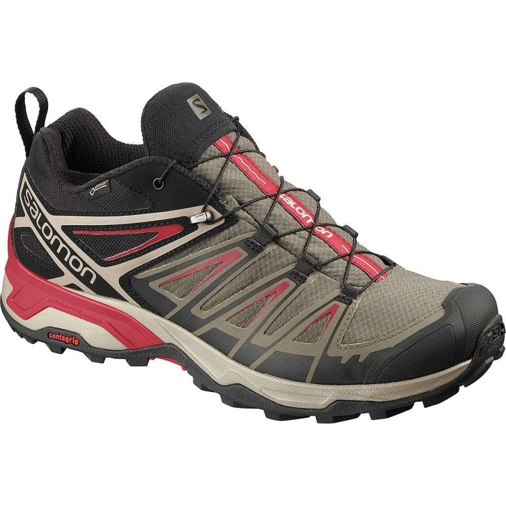 サロモン Salomon メンズ ハイキング・登山 シューズ・靴【X Ultra 3 GTX Hiking Shoes】Bungee Cord/Vintage Kaki/Red Dahlia