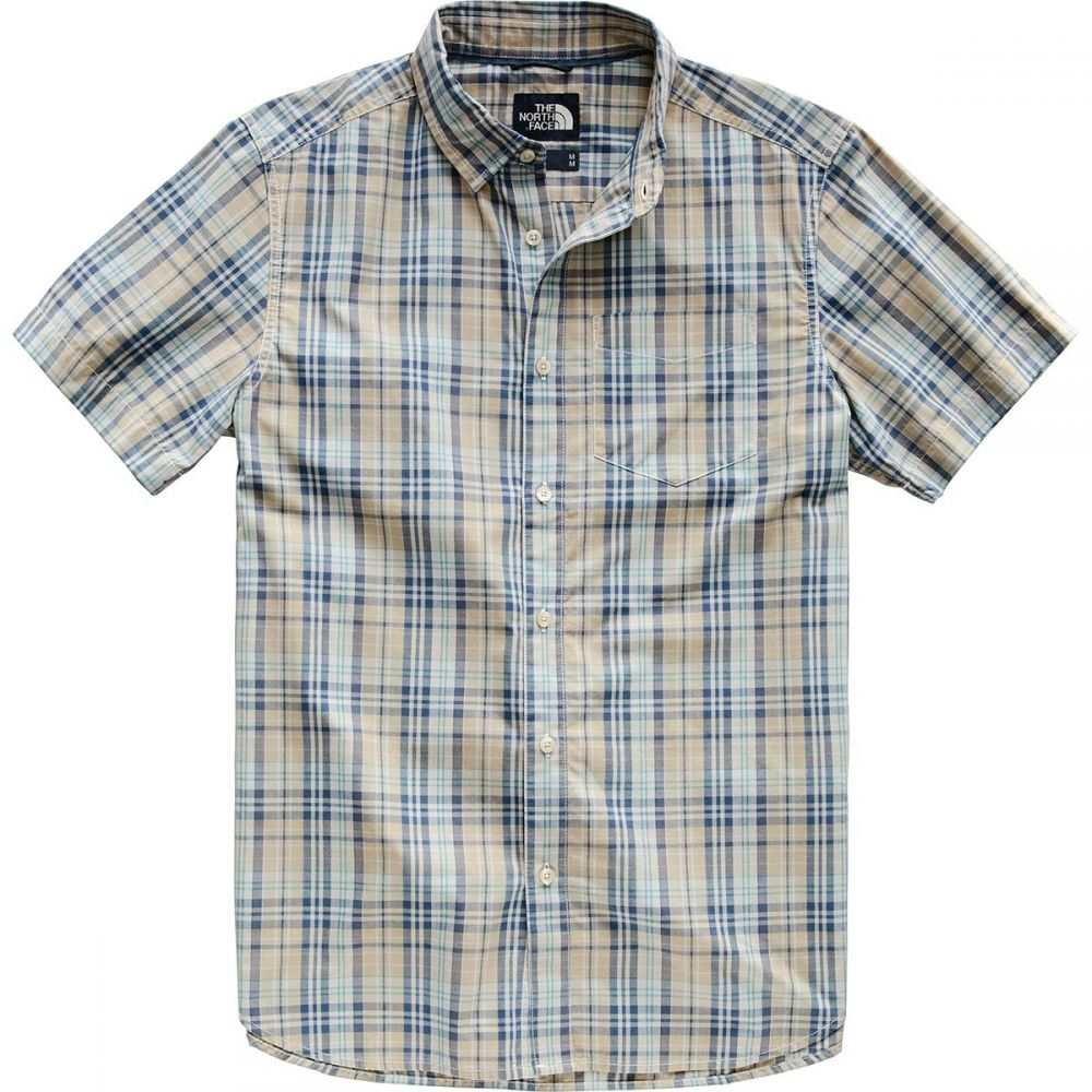 ザ ノースフェイス The North Face メンズ トップス 半袖シャツ【Hammetts Short - Sleeve Shirts】Dune Beige Sebastian Plaid