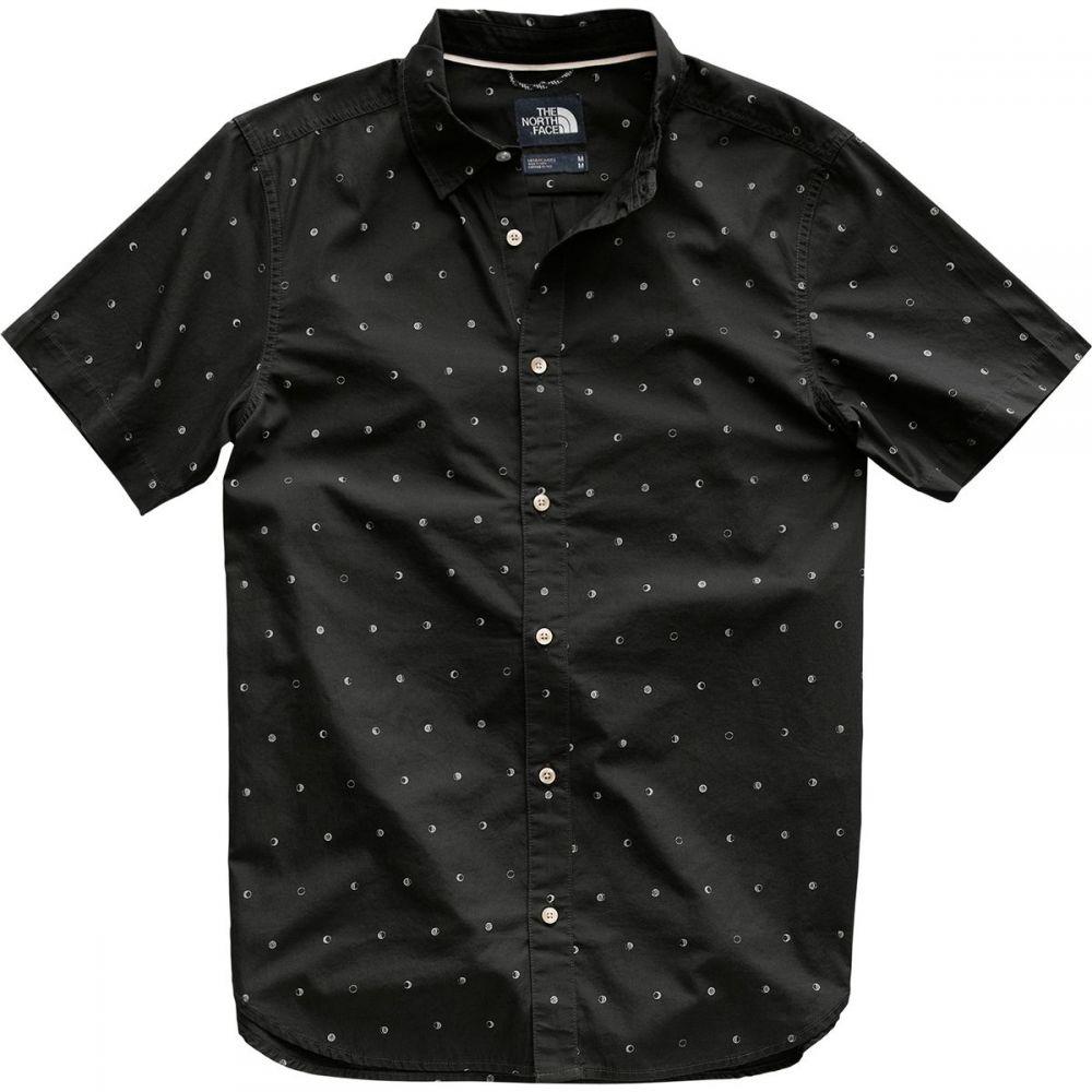 ザ ノースフェイス The North Face メンズ トップス 半袖シャツ【Baytrail Shirts】Asphalt Grey Moon Phases Print