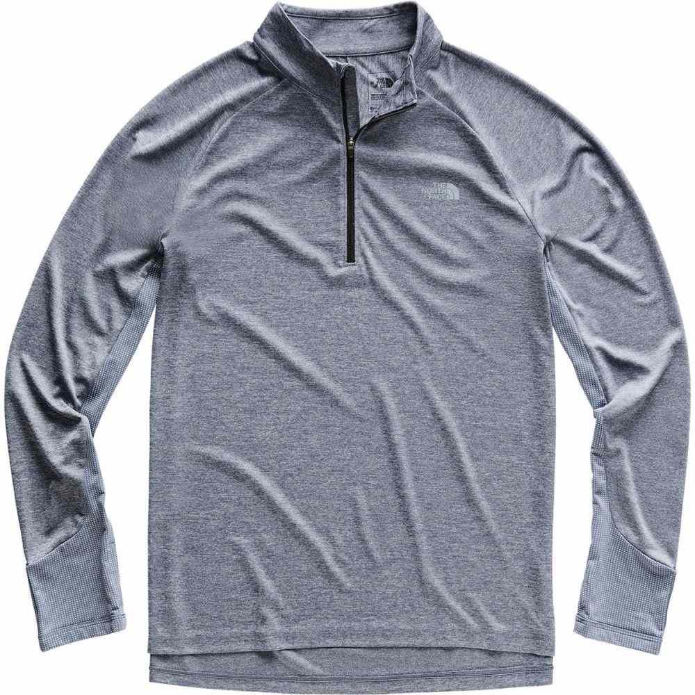 ザ ノースフェイス The North Face メンズ トップス【Ambition 1/4 - Zip Shirts】Grisaille Grey Heather