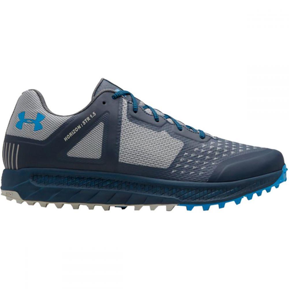 アンダーアーマー Under Armour メンズ ハイキング・登山 シューズ・靴【Horizon STR 1.5 Hiking Shoes】Academy/Overcast Gray/Blue Circuit