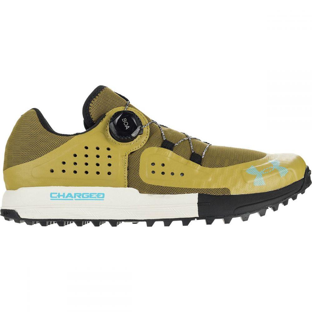 アンダーアーマー Under Armour メンズ ハイキング・登山 シューズ・靴【Syncline Hiking Shoes】Palm Green/Black/Capri