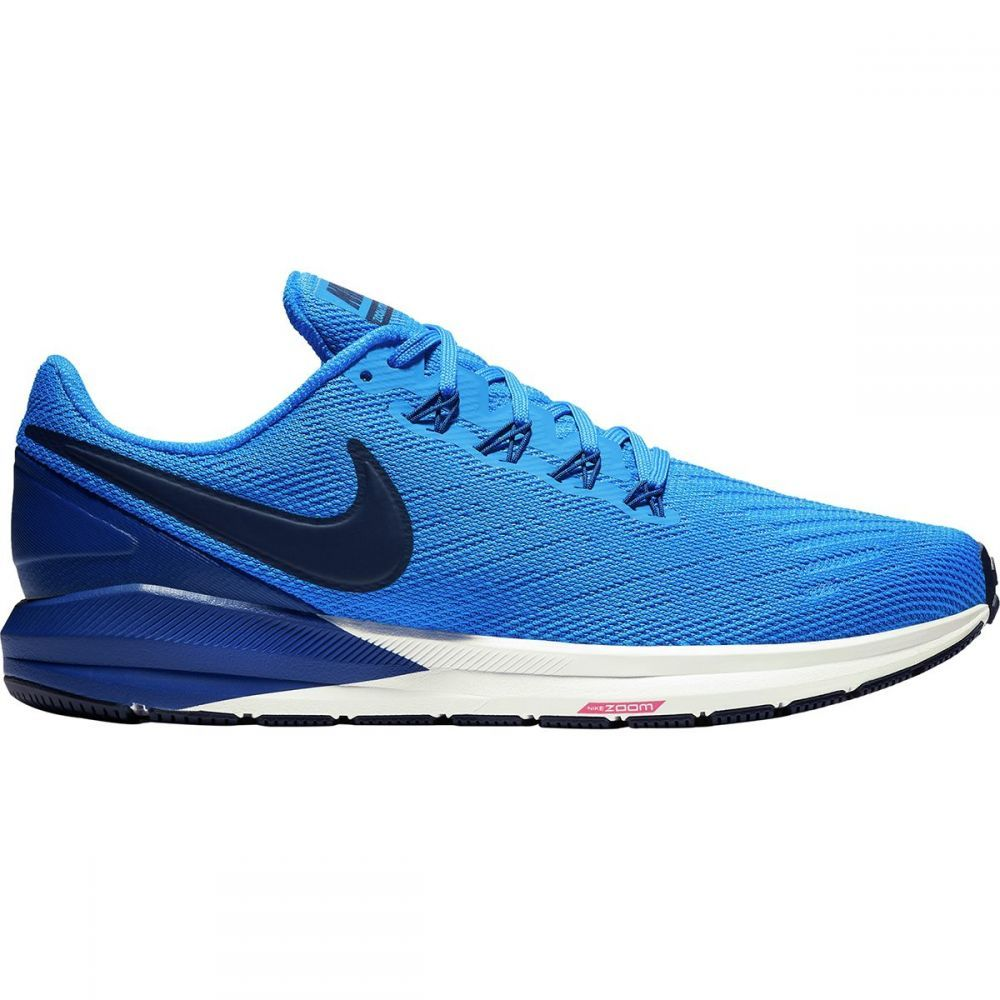 ナイキ Nike メンズ ランニング・ウォーキング シューズ・靴【Air Zoom Structure 22 Running Shoes】Photo Blue/Blue Void-Indigo Force-White