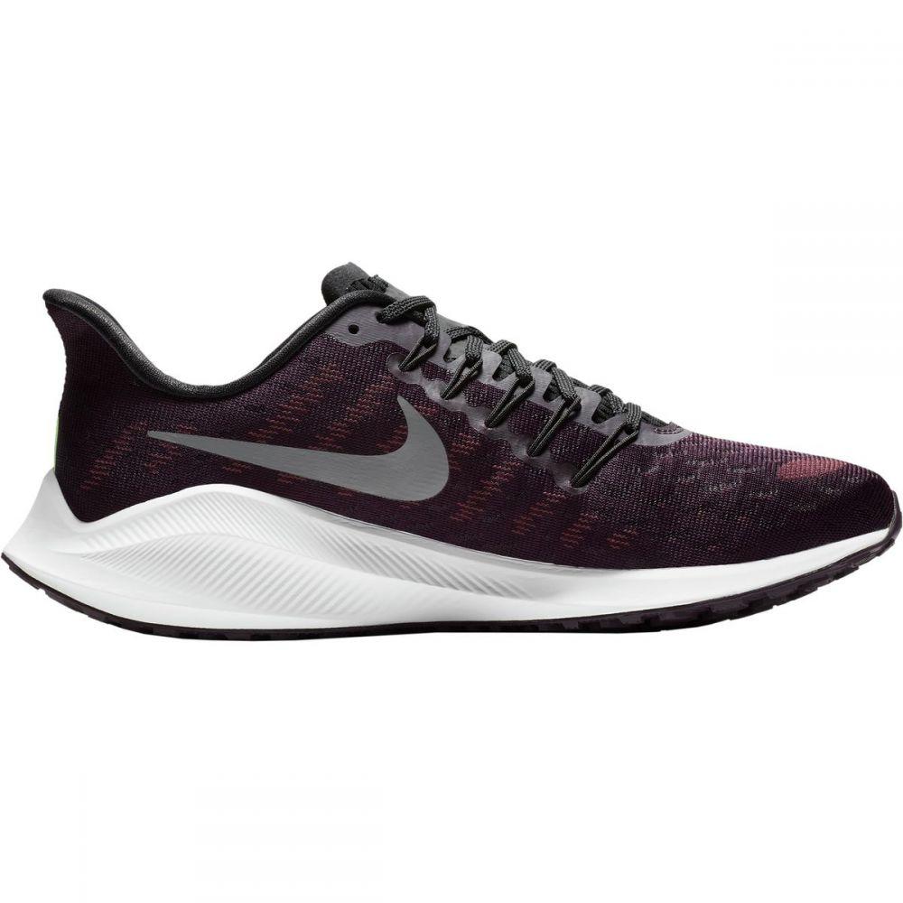 ナイキ Nike メンズ ランニング・ウォーキング シューズ・靴【Air Zoom Vomero 14 Running Shoes】Burgundy Ash/Gunsmoke-Lime Blast-Black