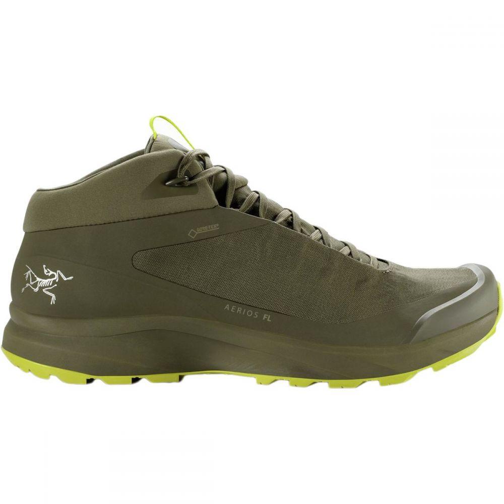 アークテリクス Arc'teryx メンズ ハイキング・登山 シューズ・靴【Aerios FL GTX Mid Hiking Boots】Taan Forest/Lampyres