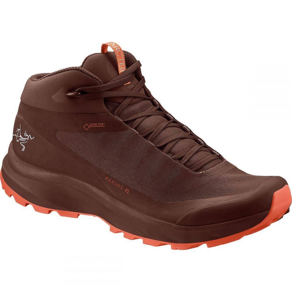 アークテリクス Arc'teryx レディース ハイキング・登山 シューズ・靴【Aerios FL GTX Mid Hiking Boot】Redox/Boreal Burn