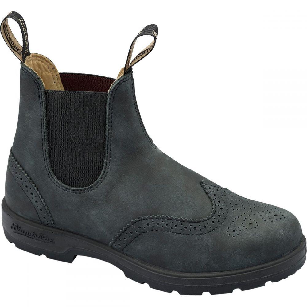 ブランドストーン Blundstone レディース シューズ・靴 ブーツ【Super 550 Series Boot】Rustic Black Brogue