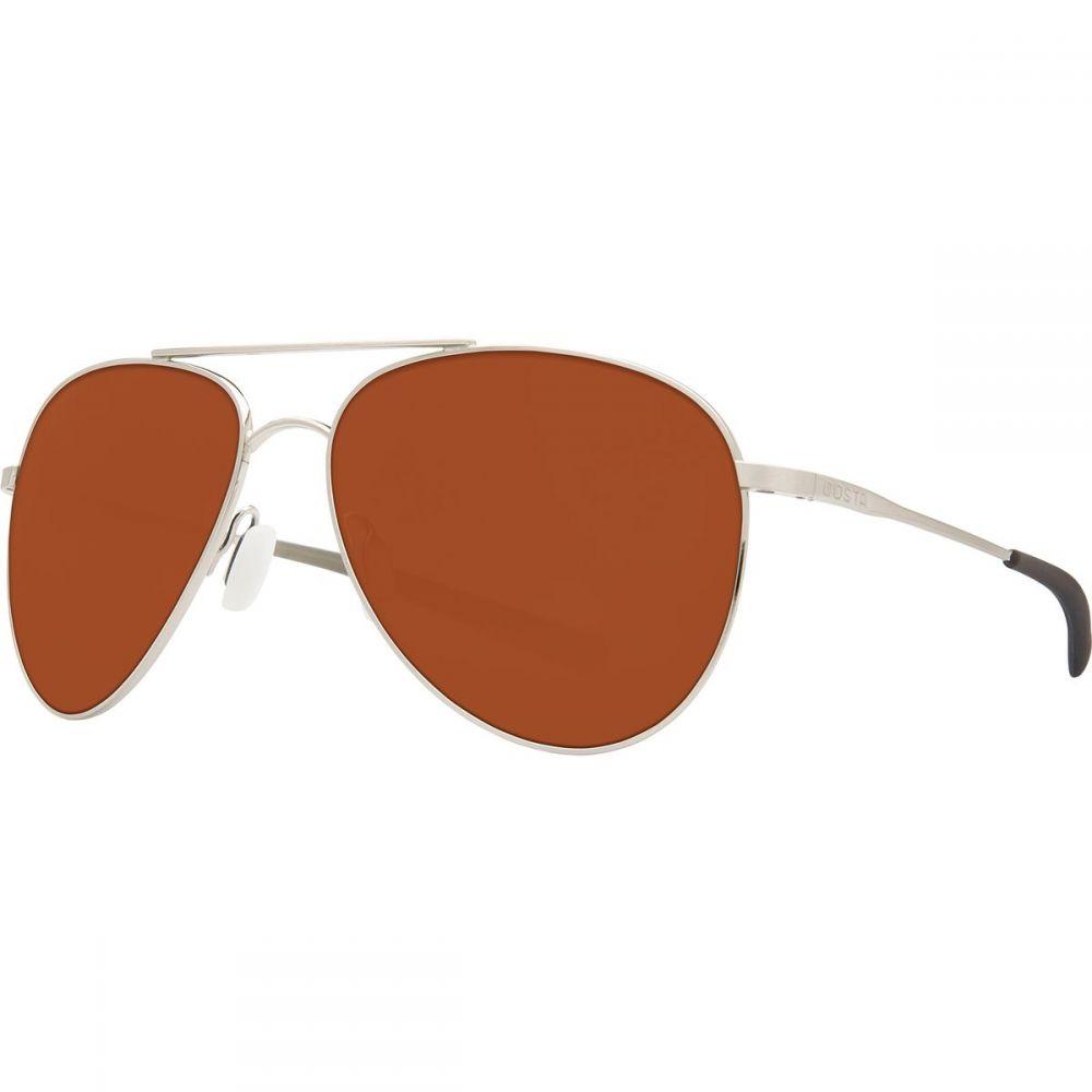 コスタ Costa レディース メガネ・サングラス【Cook 580P Polarized Sunglasses】Brushed Palladium Copper 580p