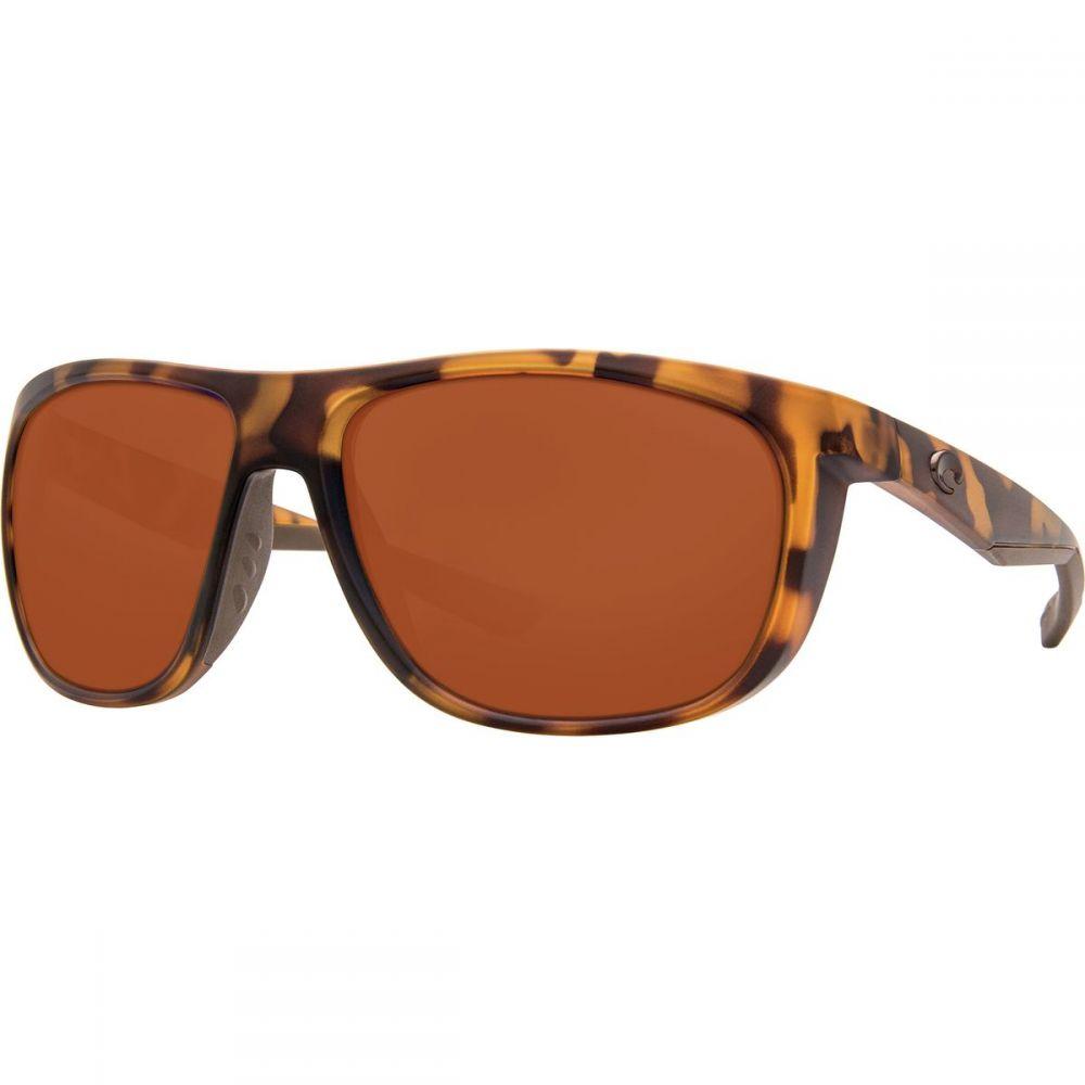 コスタ Costa レディース メガネ・サングラス【Kiwa 580P Polarized Sunglasses】Matte Retro Tort Copper 580p