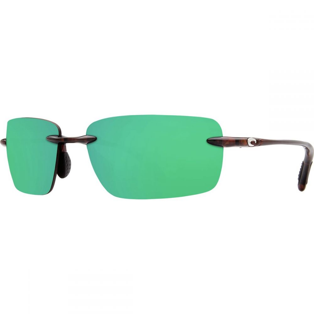コスタ Costa レディース メガネ・サングラス【Oyster Bay 580P Polarized Sunglasses】Shiny Tort Green Mirror 580p