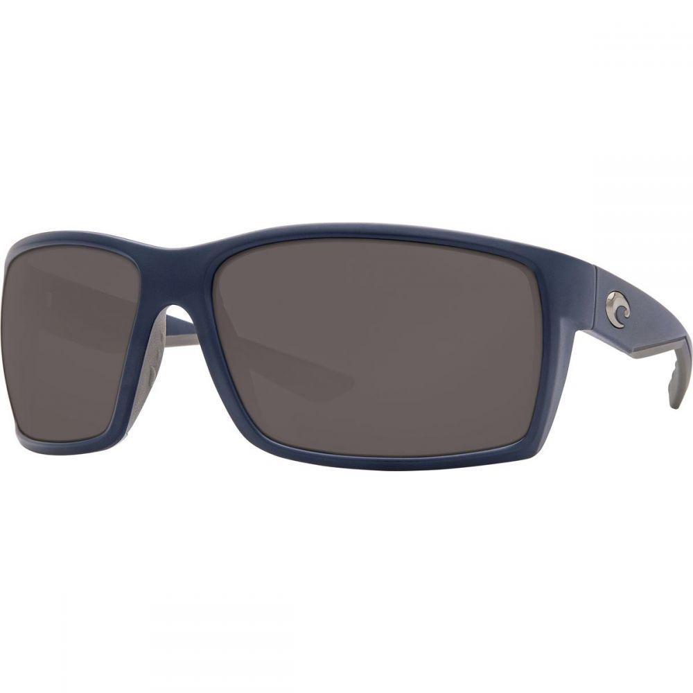 コスタ Costa レディース メガネ・サングラス【Reefton 580P Polarized Sunglasses】Matte Dark Blue Gray 580p