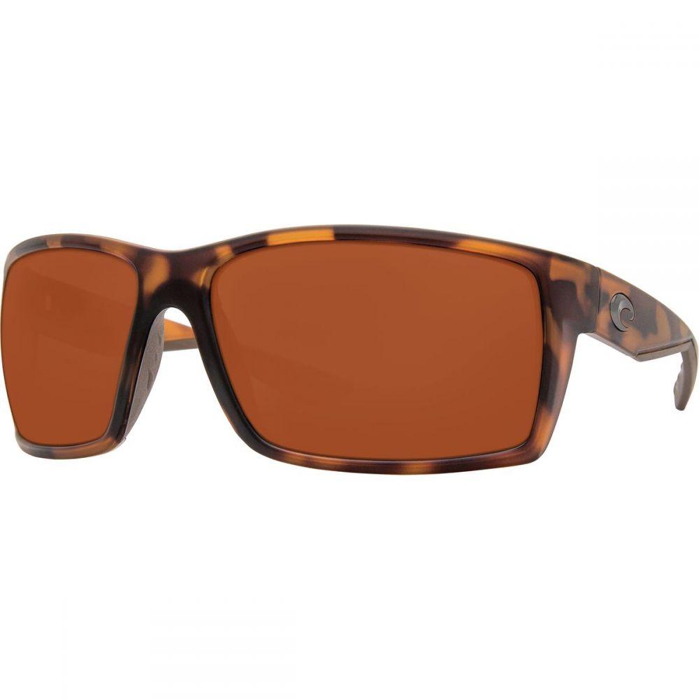 コスタ Costa レディース メガネ・サングラス【Reefton 580P Polarized Sunglasses】Matte Retro Tort Copper 580p