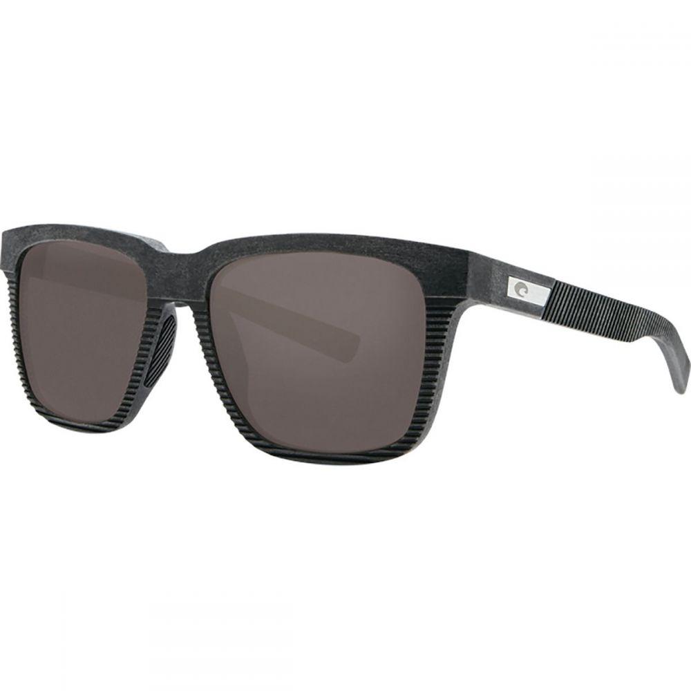 コスタ Costa レディース スポーツサングラス【Pescador 580G Polarized Sunglasses】Net Gray/Black Rubber/Gray
