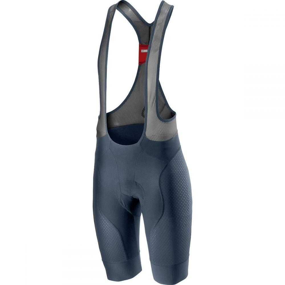 カステリ Castelli メンズ 自転車 ボトムス・パンツ【Free Aero Race 4 Bib Shorts】Dark Steel Blue
