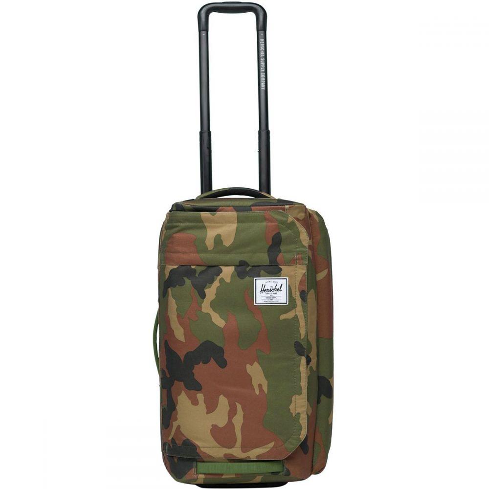 ハーシェル サプライ Herschel Supply レディース バッグ ボストンバッグ・ダッフルバッグ【Wheelie Outfitter 50L Duffel Bag】Woodland Camo