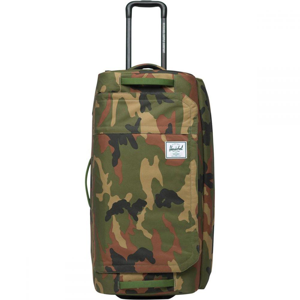 ハーシェル サプライ Herschel Supply レディース バッグ ボストンバッグ・ダッフルバッグ【Wheelie Outfitter 90L Duffel Bag】Woodland Camo