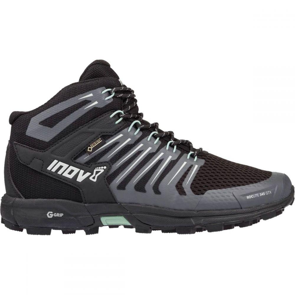 イノヴェイト Inov 8 レディース ハイキング・登山 シューズ・靴【RocLite 345 GTX Hiking Boot】Black/Green