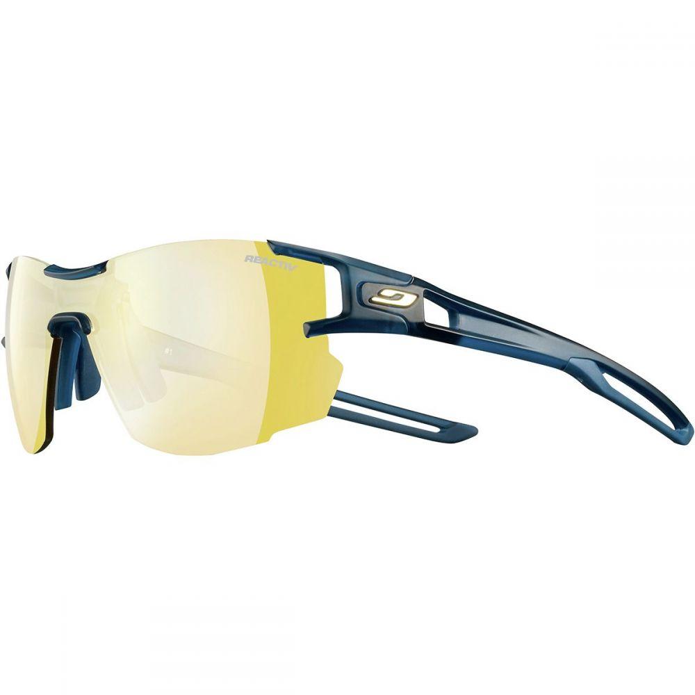 ジュルボ Julbo レディース スポーツサングラス【Aerolite Photochromic Zebra Sunglasses】Dark Blue/Cyan Blue